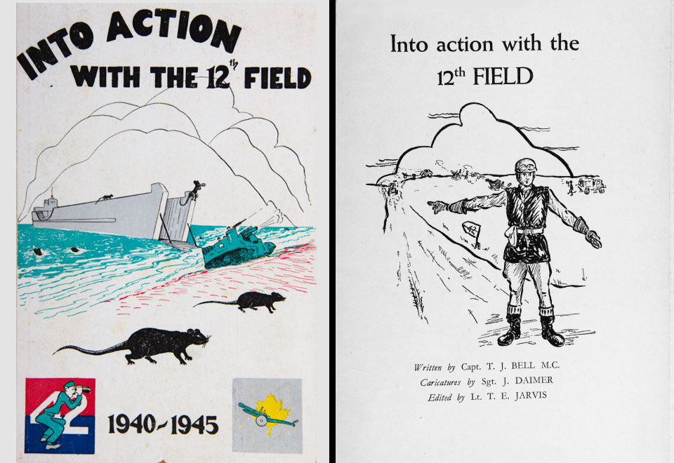A précis of Into Action with the 12th Field Regiment