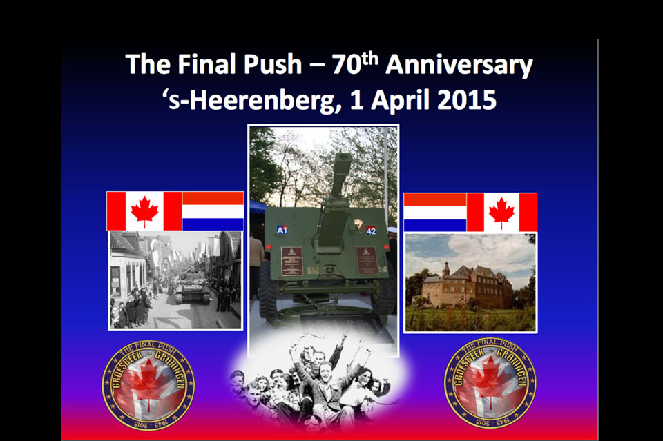 The 70th Anniversary 's-Heerenberg, 1 April 2015