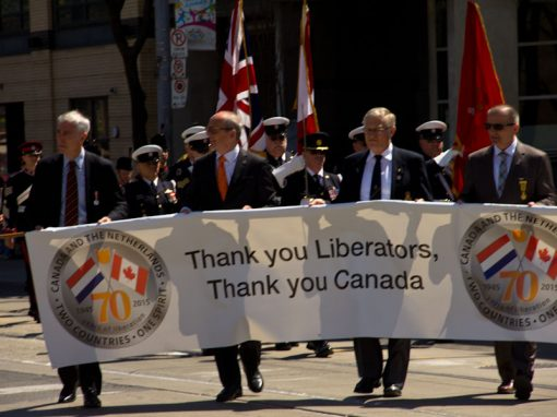 Dutch Thank Canadian Liberators Toronto Festival