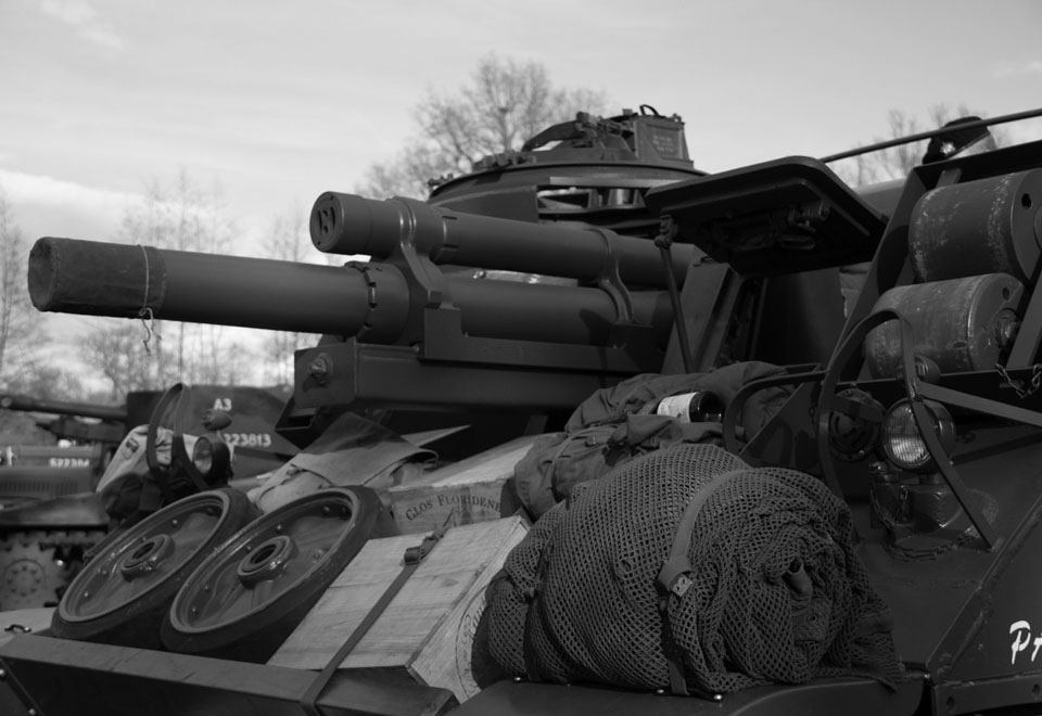 M7 Priest Self Propelled Guns