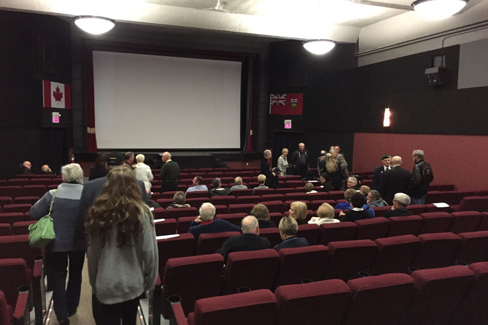 12th Field Premiere at the Norgan