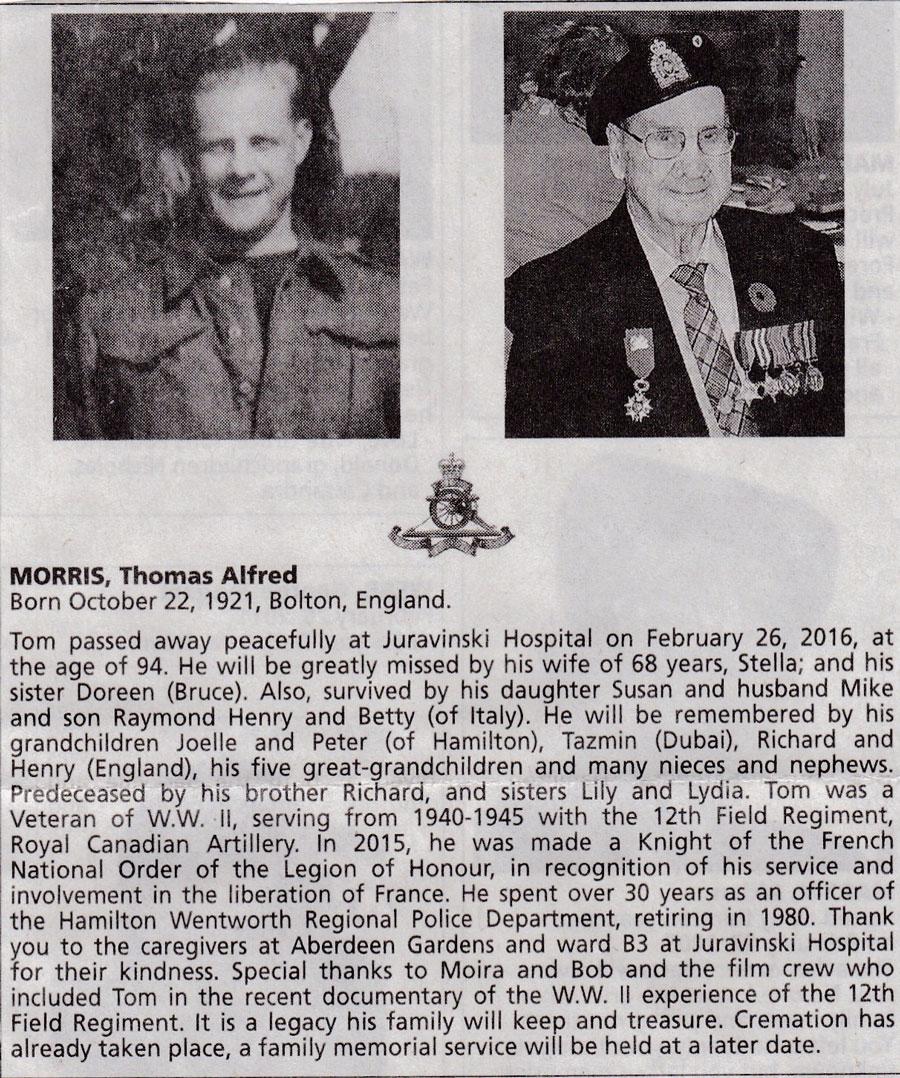 ir Thomas -Morris-1921-2016