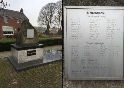 Wagenborgen-memorial-ww2 Netherlands Canadian Army