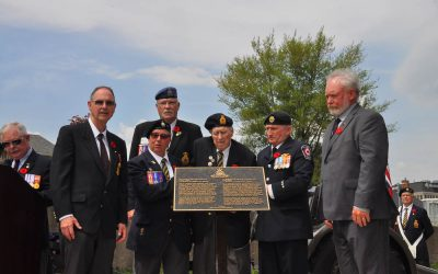 12th Field Regiment  Guelph Memorial Ceremony