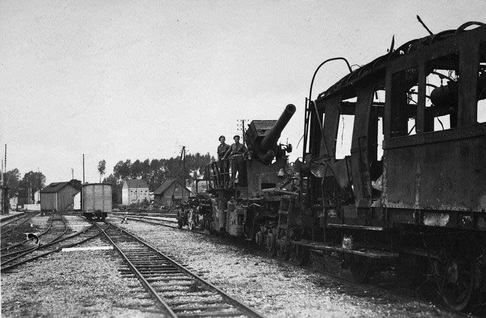 France 1944, Railway