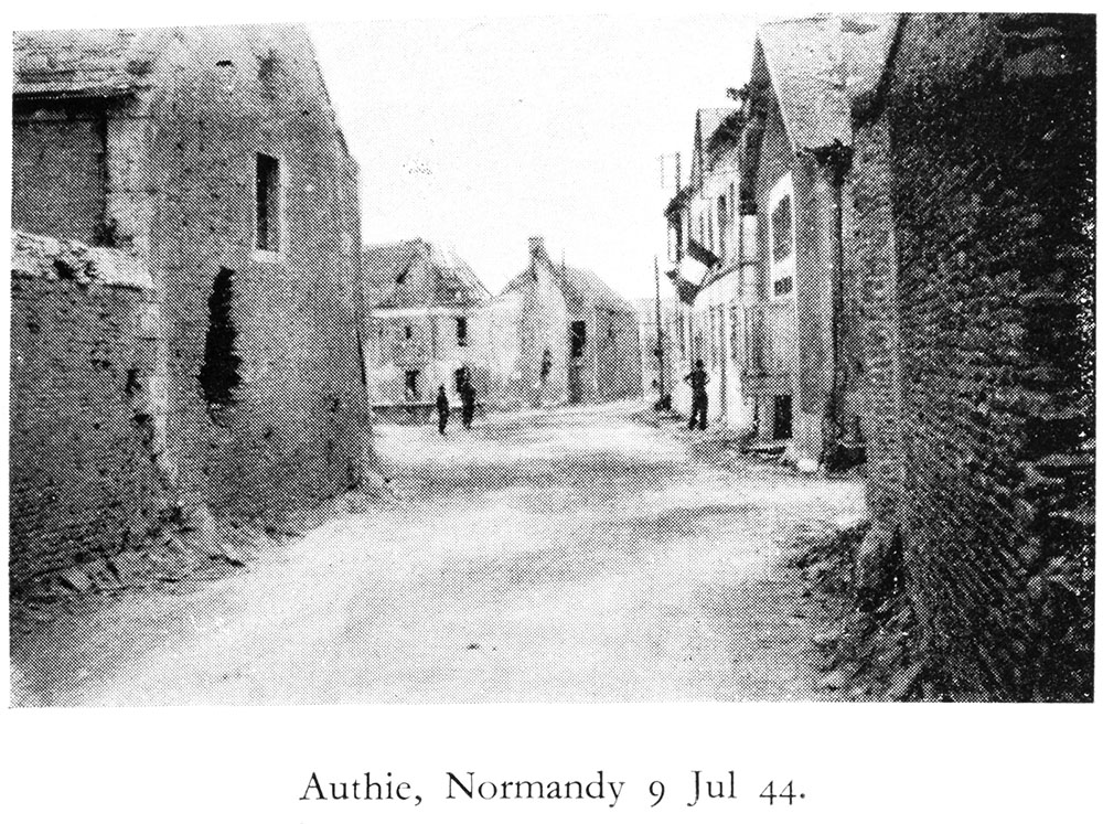Autie, Normandy, July 9, 1944