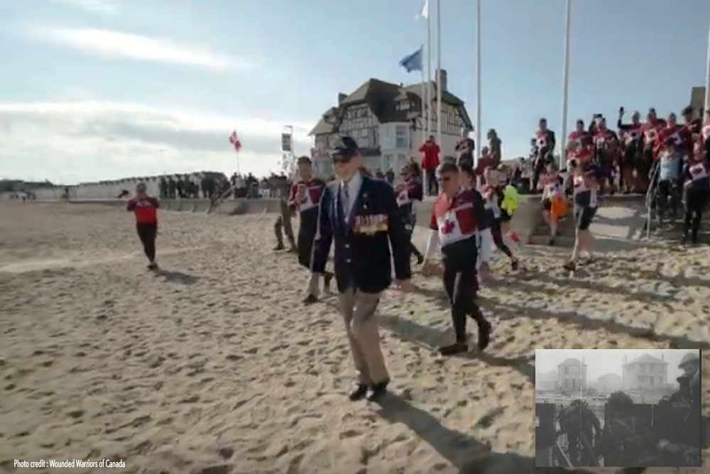 D-Day 12th Field Gunner returns to Juno Beach