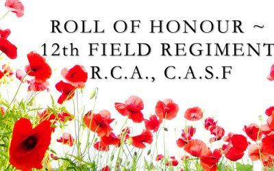 ROLL OF HONOUR 12TH FIELD REGIMENT R.C.A. VIDEO