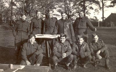 My father, Arland Kenneth Scott, 12th Field Regt RCA
