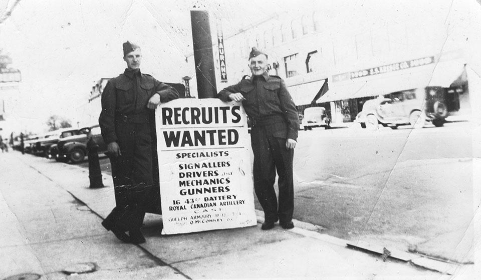 Recruits 12th Field RCA Regiment