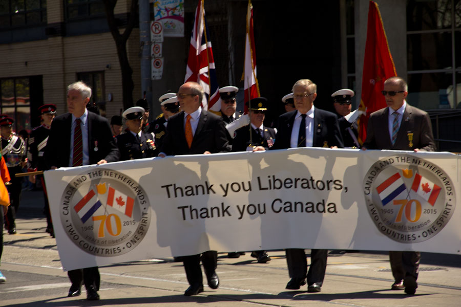 Netherlands 70th Liberation Parade in Toronto