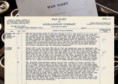 12th-field-war-diary-April-20-1945
