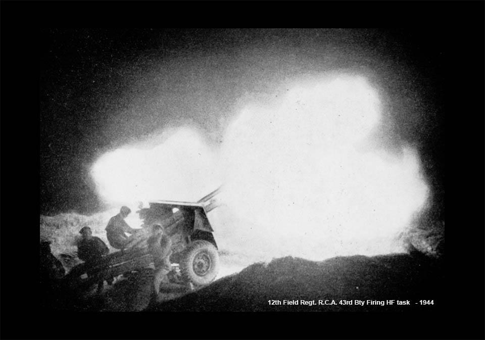 12thField-Night Fire 25pdr