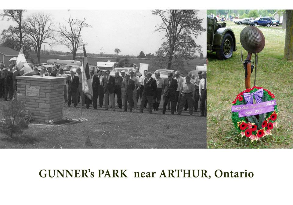 Memories of 12th Field Gunner's Park