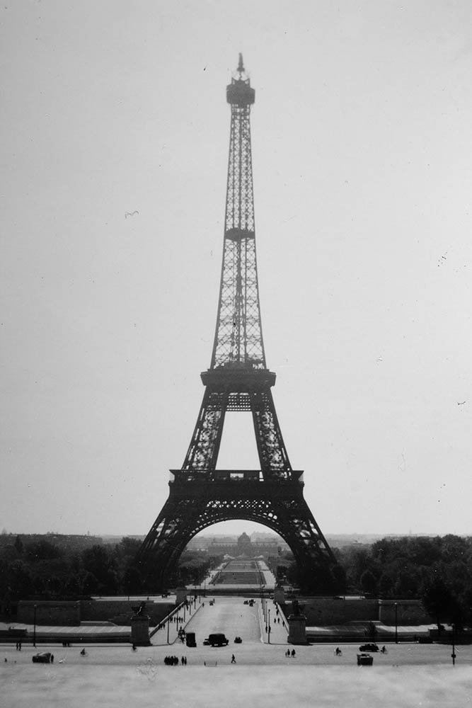Eiffel Tower Paris 1944