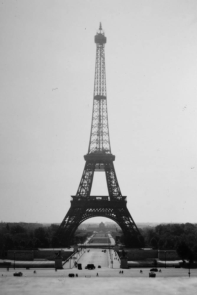 Eiffel Tower Paris 1944