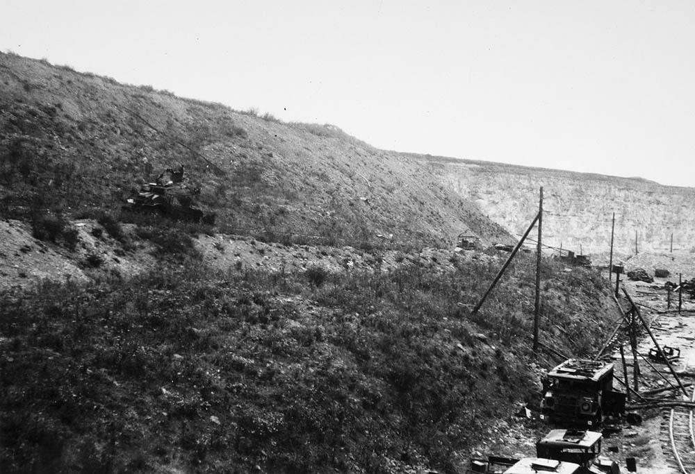 August 14 Quarry Bombing, Falaise France 1944