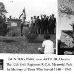 12th Field Regt Gunner's Park Memorial