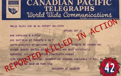 Reported Killed in Action, Fourteenth August