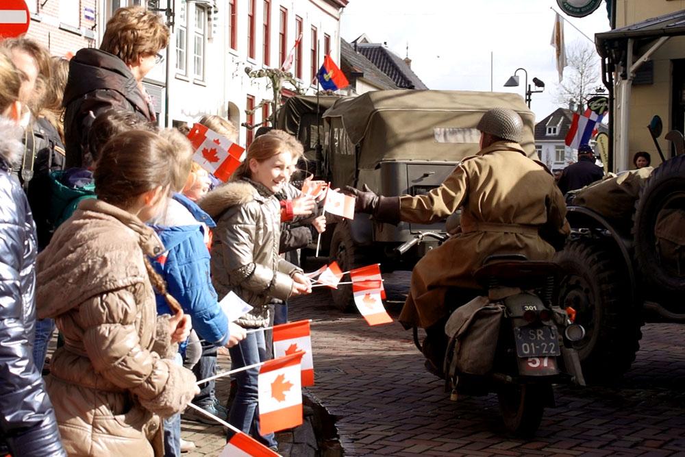 Liberation-Remembrance s-Herenberg, NL April 2015