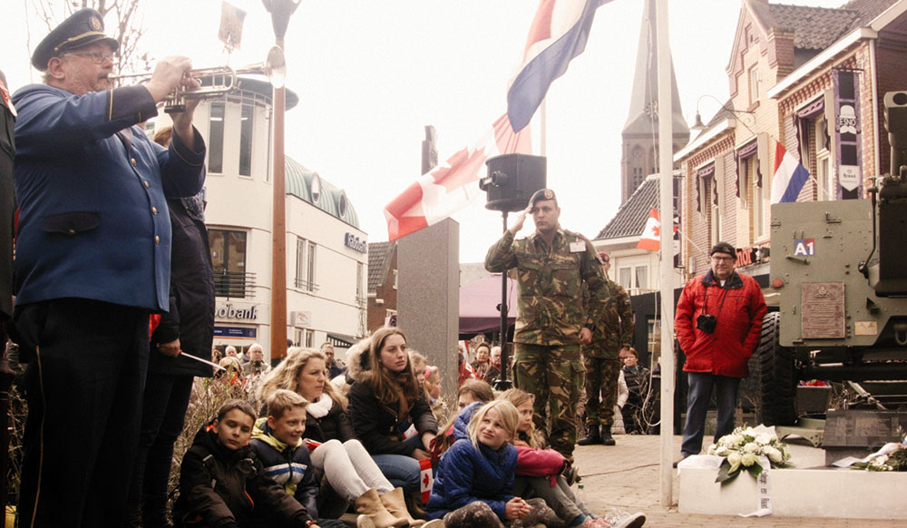 75th Anniversary of the Liberation on the Dutch-German border