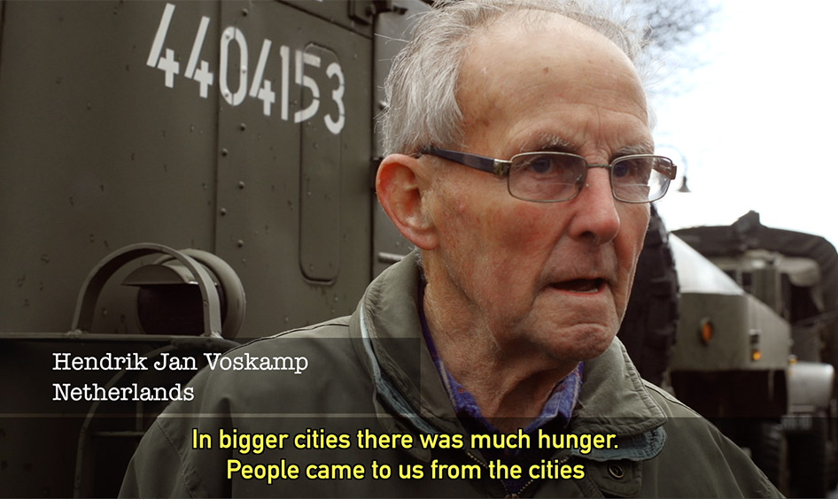 Mr. Voskamp -Liberation-Remembrance Netherlands April 2015