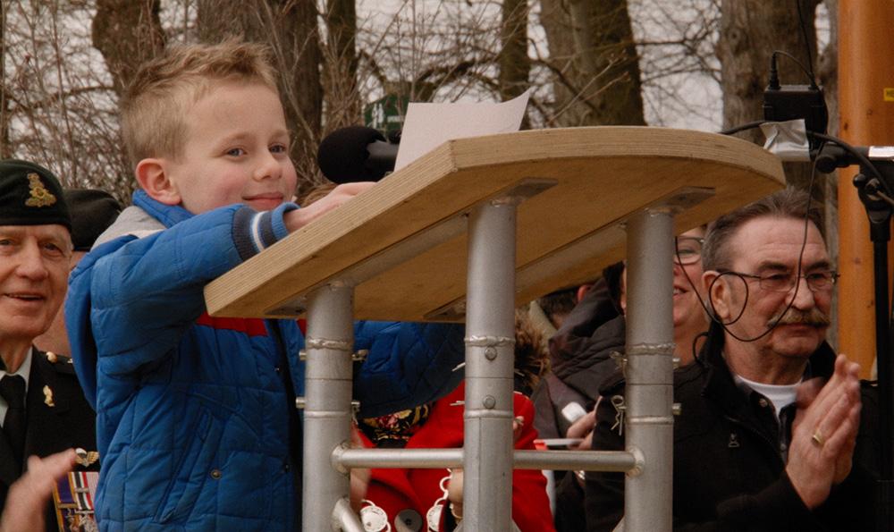 Julian Oltmans -Liberation-Remembrance Netherlands April 2015