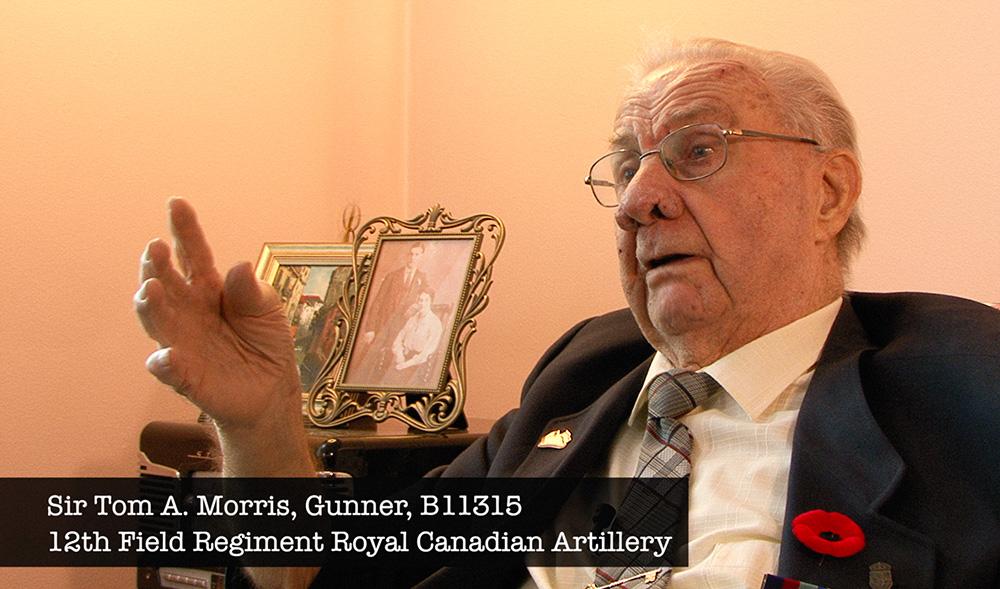 Tom Morris - 12th Field Regiment veteran